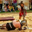 Gladiatoren in der Arena