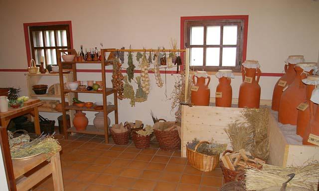 Römische Küche | Saarland Lese Die Romische Villa Borg