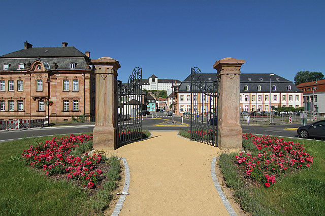 Saarland Lese   Streifzug durch die Altstadt von Blieskastel