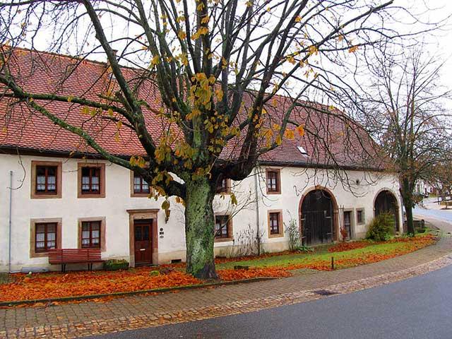 Saarland Lese Das Lothringische Und Das Südwestdeutsche Bauernhaus